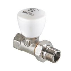 """Клапан ручной VALTEC, для радиатора, прямой 3/4"""" (7/56)"""