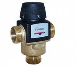 """Термостатический смесит. клапан TIM 1""""  ( 20-55°С) kv/s 4.5"""