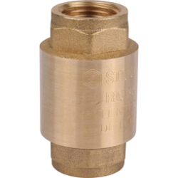 Клапан обратный пружинный муфтовый STOUT
