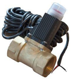 Клапан эл.магнитный газовый ду-25