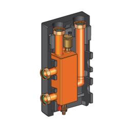 Разделительный модуль Huch-Multi DN 25 в комплекте с футорками