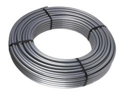 Труба cшит. п/э TIM PEX с алюминевым слоем , Stabili, Ø16*2.0 (200м) серый