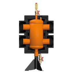 Стрелка 1150кВт 50 м3/час,Ду150 с гидравлическим выравниванием, Victaulic