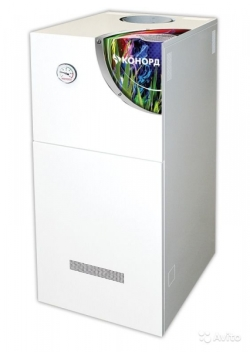 Газовый напольный котел Конорд КСц-ГВ-20S с автоматикой Sit (двухконтурный)
