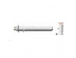 Комплект коаксиальный D 60/100 - 750 мм для прохода через стену или крышу с отводом конденсата для газовых котлов Ariston. Артикул 3318002