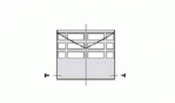 Оголовок D 80 горизонтальный из нержавеющей стали с крепежными винтами для газовых котлов Ariston. Артикул 3318027