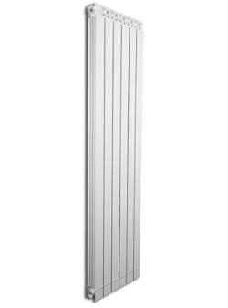 Дизайнерские алюминиевые радиаторы Fondital GARDA DUAL 80 ALETERNUM  1200 (4 сек)