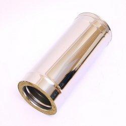 Дымоход-Сэндвич Ferrum 1,0 м (430/0,8 мм) Ø 115х200