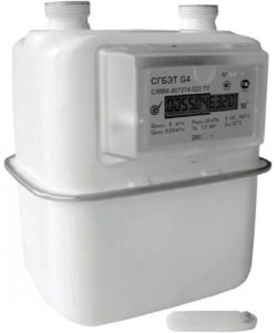 Счетчик газа СГБЭТ G4 Правый (М33х1,5)