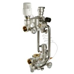 Насосно-смесительный узел VALTEC с термоголовкой, без насоса,  180 мм