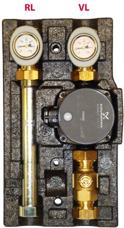 101.10.018.01 GF Насосный модуль ECO DK DN 20 с насосом Grundfos  UPS 15-65