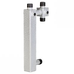 Основание для сборки насосной группы с возможностью установки трехходового смесительного клапана